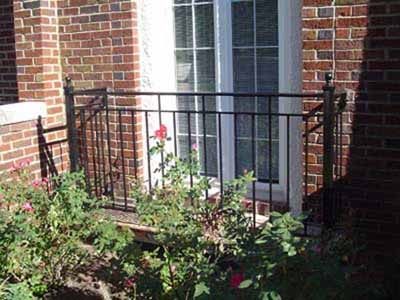 Wrought iron door or window guard